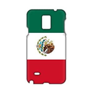 WWAN 2015 New Arrival mexico flag icon 3D Phone Case for Samsung NOTE 4