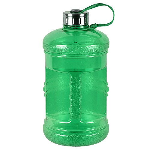 Reusable water bottle that looks like a plastic water bottle