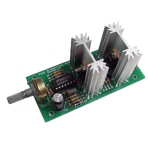 Bidirectional DC Motor Speed Controller Kit