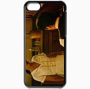 Personalized iPhone 5C Cell phone Case/Cover Skin Ask the Dust Colin Farrell Arturo Bandini Salma Hayek Camilla Movies Black