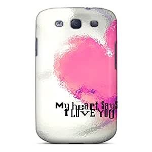 High-quality Durability Case For Galaxy S3(my Heart Says)