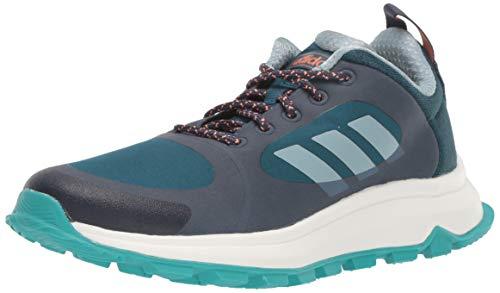 adidas Women's Response Trail X Running Shoe, Trace Blue/ash Grey/tech Mineral, 7 M US