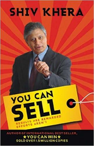 You Can Sell Shiv Khera 9788129116000 Amazon Com Books