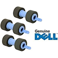 Genuine Dell 3-Pack of Paper Feed / PickUp Rollers. Part #s RG399/B7924. For Use In: Dell 3110CN/3115CN/3130CN/5130CDN/C2660DN/C2665DNF/C3760N/C3760DN/C3765DNF.