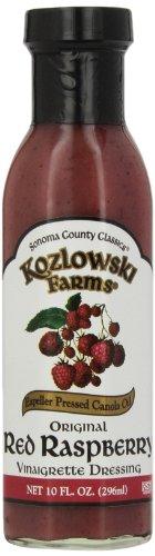 Kozlowski Farms Vinaigrette Dressing, Original Red Raspberry, 10.0-Ounce (Pack of (Red Onion Vinaigrette)