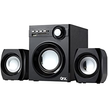 QFX BT-203 2.1 Channel NFC Bluetooth Speaker System