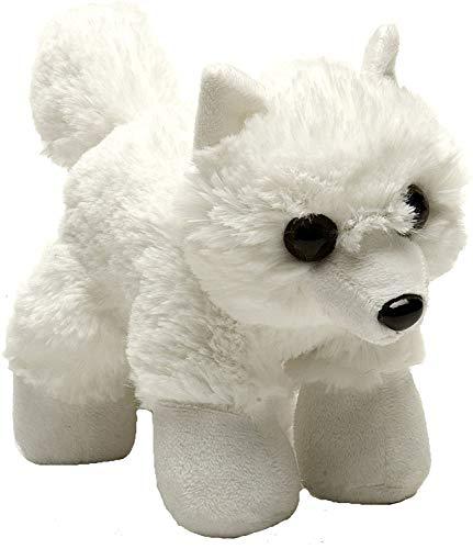 Wild Republic Hug Ems Arctic Fox Plush Toy