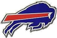 """FANMATS NFL Buffalo Bills Die Cut Color Automobile Emblem, Team Color, 4"""""""