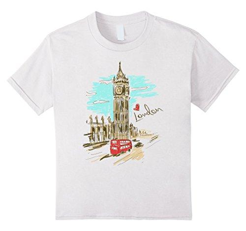 Kids London England T-Shirt- Retro Souvenir Love London Shirt 12 - London Retro