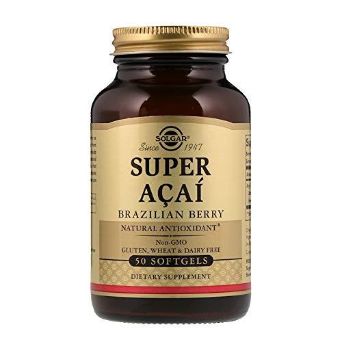 (Solgar - Super Acai, Brazilian Berry, 50 Softgels)