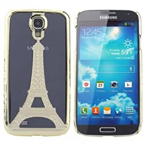PC Eiffel Tower Protective Case For Samsung Galaxy S4 I9500 --- Color:Purple
