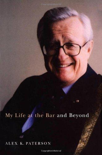 My Life at the Bar and Beyond (Footprints Series)