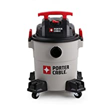 Porter-Cable Wet/Dry Vacuum, 6 Gallon, 4 Horsepower