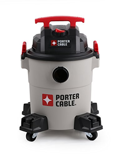 Porter Cable Wet Dry Vacuum 6 Gallon 4 Horsepower