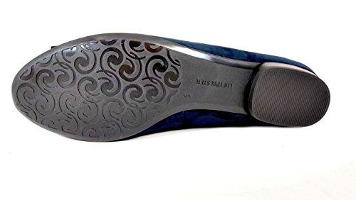 Ballerina Navy Ara ara 22 Shoes 63355 Pisa Women's Pump Suede Jenny by 41 Blau g6YxBS