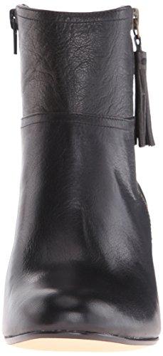Nine Hannigan Bootie Hannigan Women's Ankle Nine Women's Leather Noir West West AqAFn1wrW