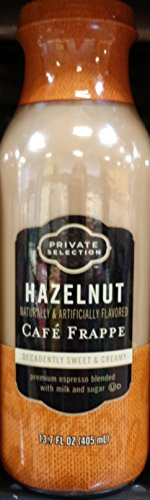 Private Selection Hazelnut Cafe Frappe 13.7 oz Bottles (Pack of 6)