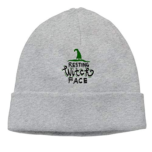 Resting Witch Face 4 Women Beanie Hats Knitted Cap]()