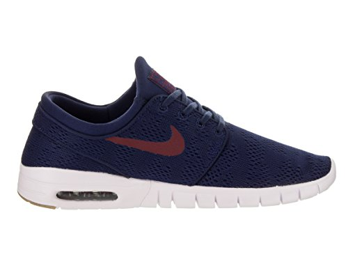 SB Team Men's Red Nike Stefan Blue Shoes Janoski Max Binary d4nvwUq