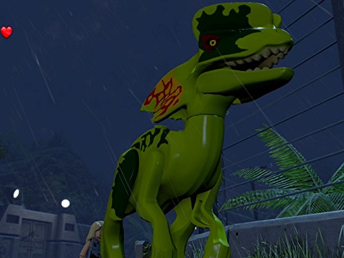 Dilophosaurus - T-Rex Chase, Park Shutdown Free Play (Jurassic Park) ()