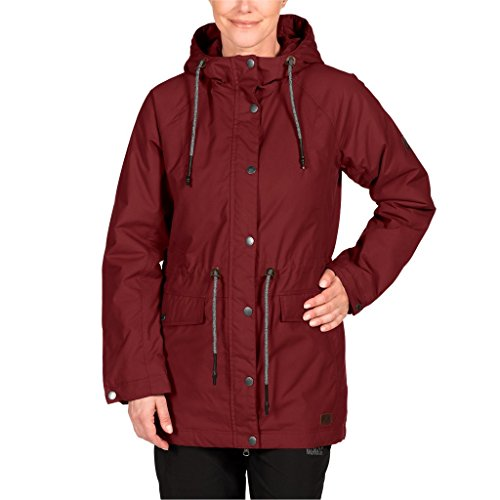 Delle Parka F65 Invernale Rot Rtown Giacca Mille Jack Wolfskin Donne 2056 pomodoro Secco XHqx0Y