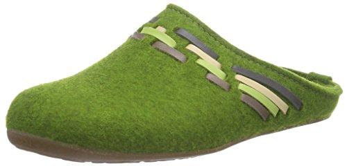 Haflinger Tape, Unisex Adults' Low-Top Slippers Green (36 Grasgr