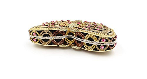 WYB Luxus Schmetterling Diamant-Abendbeutel / Kettenbeutel / High-End-volle Diamant-Paket