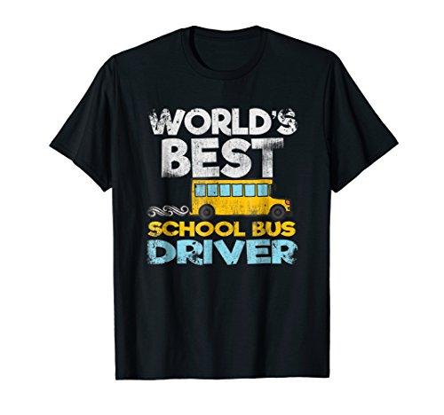 Best Bus Worlds Driver (World's Best School Bus Driver Shirt)