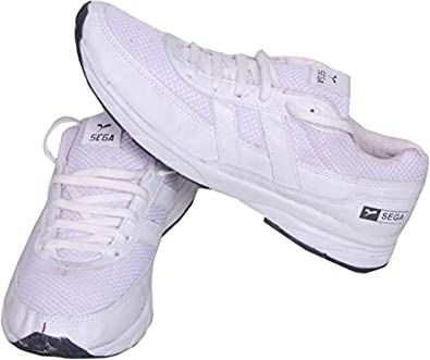 22aab3f732 SEGA White Marathon Running Shoes.: Buy Online at Low Prices in ...