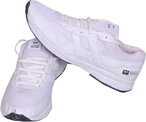 Buy SEGA White Marathon Running Shoes