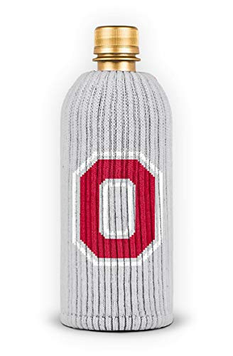 FREAKER Fits Every Bottle Can Beverage Insulator, Stops Bottle Sweat, NCAA Collegiate College The Ohio State University Buckeyes -