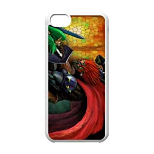 the legend of zelda ocarina of time iPhone 5c Cell Phone Case White 53Go-286769