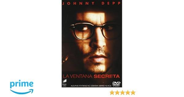 La Ventana Secreta Dvd Amazon Es Johnny Depp John Turturro