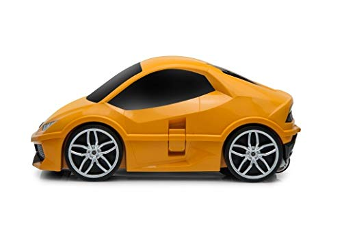 Ridaz Lamborghini Huracan Carry-on Hand Luggage for kids, (Officially Licensed by Lamborghini) Orange Lamborghini by Ridaz (Image #4)