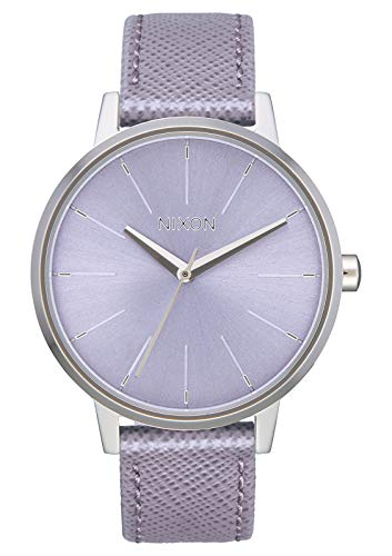 NIXON Kensington Leather A108 - Lavender - 50m Water Resistant Women's Analog Classic Watch (37mm Watch Face, 16mm Leather ()