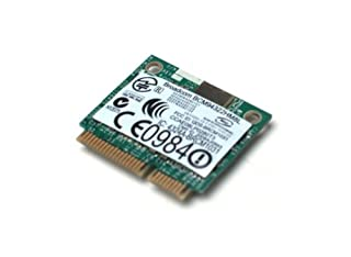 Broadcom Wireless 802 11/a/g/n Internet WLAN Adapter Card for Laptops & Netbooks (B002OB0FPI) | Amazon price tracker / tracking, Amazon price history charts, Amazon price watches, Amazon price drop alerts