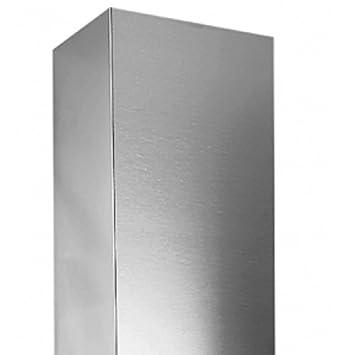 Whirlpool AMC121 Extensión de tubo accesorio para campana de estufa - Accesorio para chimenea (Extensión de tubo, Acero inoxidable, 1 pieza(s)): Amazon.es: ...