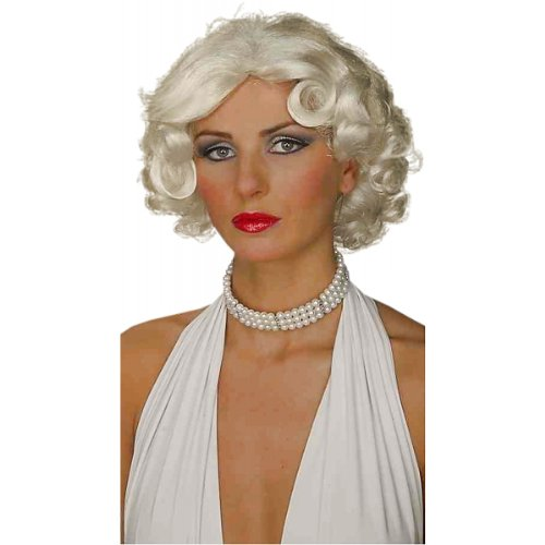 Hollywood Star Wig (Forum Hollywood Movie Star Wig, Blonde, One Size)