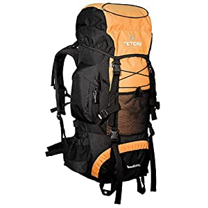 TETON Sports Scout 3400 Internal Frame Backpack; High-Performance Backpack for Backpacking, Hiking, Camping; Mecca Orange