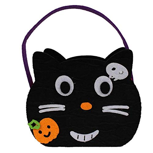 (Party DIY Decorations - Lollipop Handbag Halloween Accessory Pumpkin Bag Non Woven Children 39 S Costume Party Decoration - Decorations Party Party Decorations Halloween Skeleton)