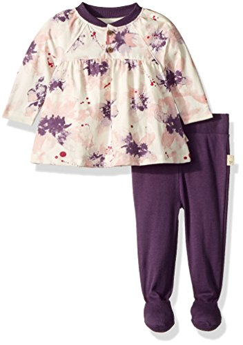 Legging Floral Set Cotton (Top and Pant Set, Tunic and Legging Bundle, 100% Organic Cotton)