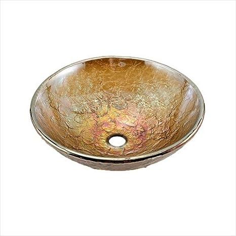 JSG Oceana 005-003-101 Vessel 16 Gold Reflections 16 Standard Plumbing Supply