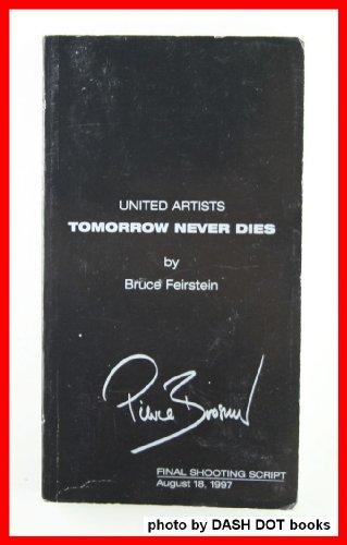 United Artists TOMORROW NEVER DIES, Final Shooting Script, August 18, 1997