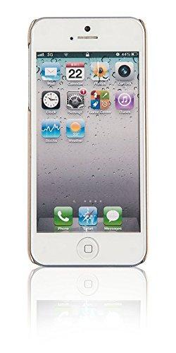 Spada 25551 Glitter Hart Schutzhülle für Apple iPhone 5/5S/5SE gold