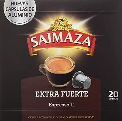 Café Saimaza Espresso Extra Fuerte - 20 Cápsulas: Amazon.es ...