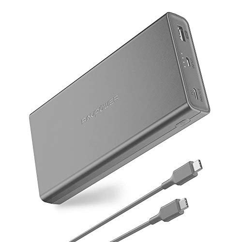 RAVPower 20100mAh PD 3.0 45W Power Delivery Power Bank