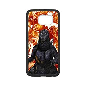 Fayruz- Personalized Protective Hard Textured Rubber Coated Case Cover for Samsung Galaxy S6 - Godzilla -S6O788