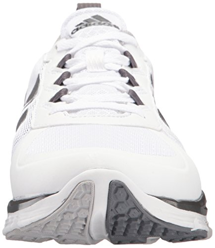 Adidas Performance Mens Speed 2 Ampia Scarpa Cross-trainer Bianca / Carbonio Soddisfatte. Onix Leggero