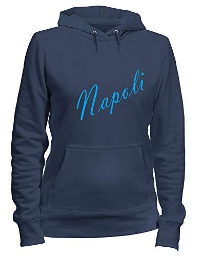 Shirt Speed Felpa Navy Donna Tstem0113 Blu Cappuccio Products Napoli nHZx4UH