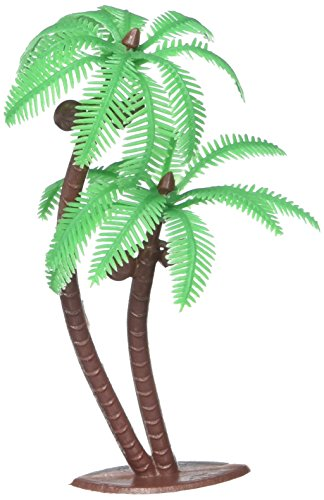 Palm Tree with Coconuts Cake Topper (8 (Palm Tree Party Picks)